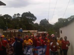 Con una multitudinaria asistencia, los habitantes del sector La Alcabala  atendieron al llamado revolucionario del CCC